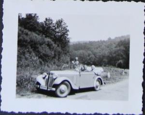 Adler Trumpf Junior Cabriolet 1933 Original Photo