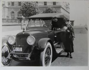 Mercer 22-70 Convertible in Kalifornien 1926 Original Photo