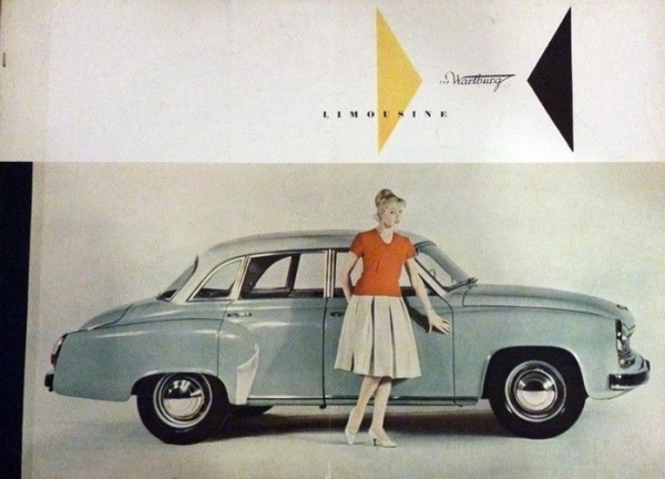 Wartburg 311 Limousine 1960 Automobilprospekt