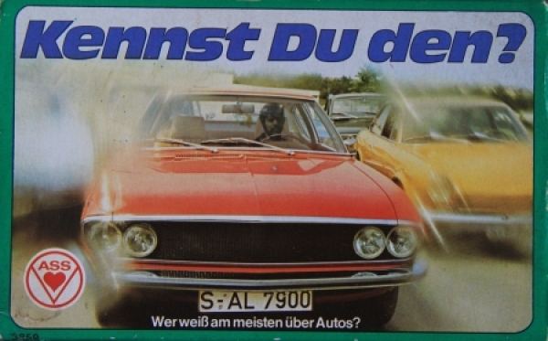 "Altenburger ""Kennst Du den?"" Kartenspiel in Originalbox 1974"
