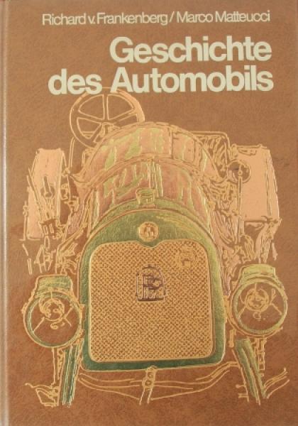 """Frankenberg """"Geschichte des Automobils"""" Fahrzeug-Historie 1976"""