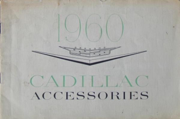 Cadillac Accessoires 1960 Automobilprospekt