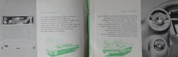 Cadillac Accessoires 1960 Automobilprospekt 1