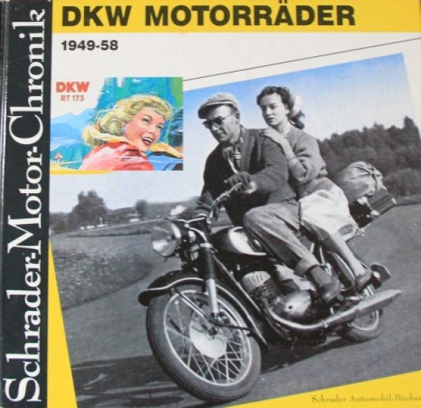 """Knittel """"DKW Motorräder 1949-58"""" Motorrad-Historie 1988"""