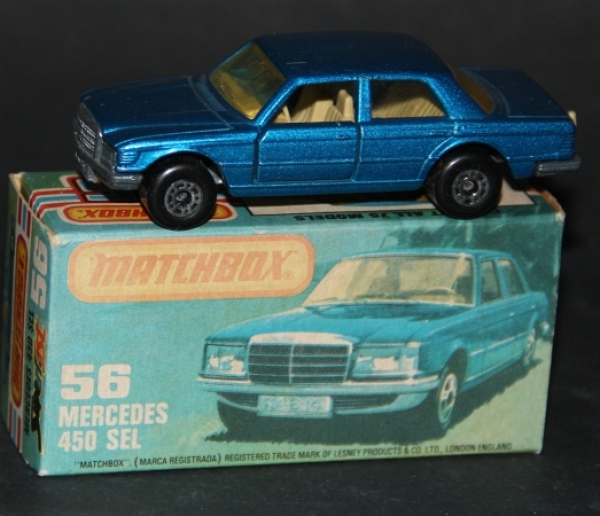 Matchbox Superfast Mercedes-Benz 450 SEL 1979 Metall in Original Box