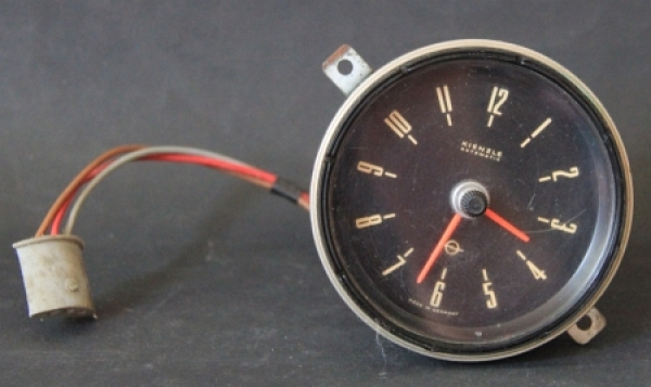 Opel Kadett B Kienzle Automatic Autouhr 1966