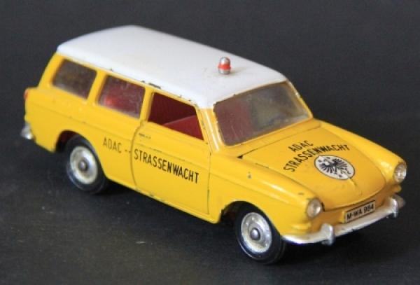 Märklin Volkswagen Variant 1600 L ADAC-Straßenwacht 1965 Metall