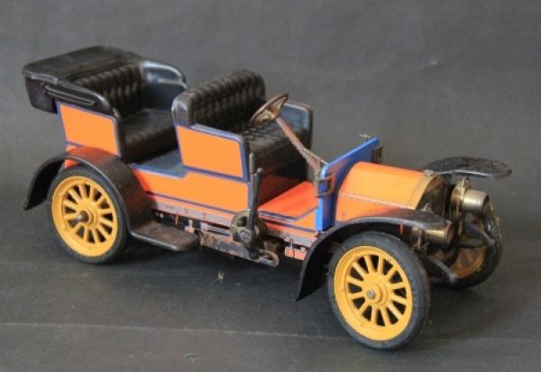 Schuco Mercedes Simplex 32 PS 1902 Metallmodell mit Frictionsantrieb