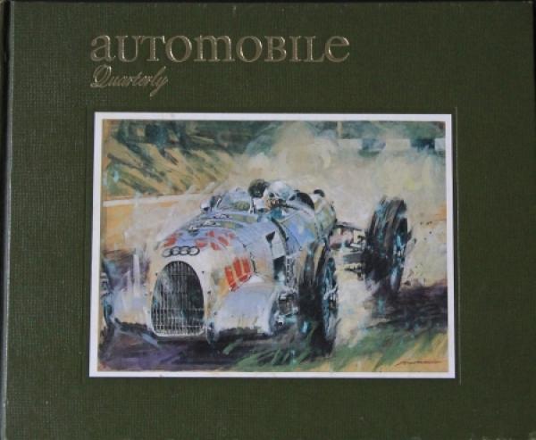 """""""Automobil Quarterly"""" Volume 8 Ausgabe 1 Autohistorie 1970"""