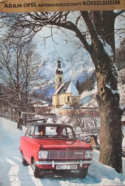 Opel Jahreskalender 1965