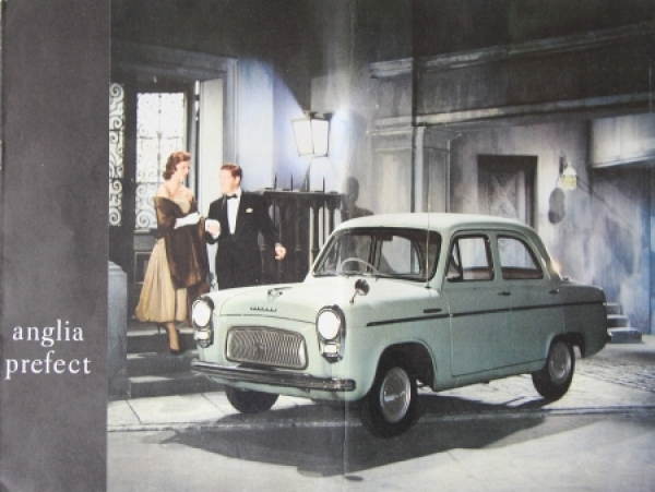 Ford Anglia Perfect 1957 Automobilprospekt