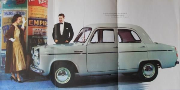 Ford Anglia Perfect 1957 Automobilprospekt 1