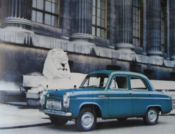 Ford Anglia Perfect 1957 Automobilprospekt 2