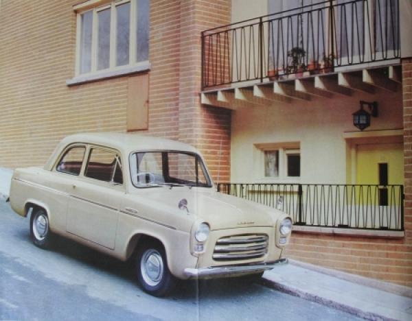Ford Anglia Perfect 1957 Automobilprospekt 3