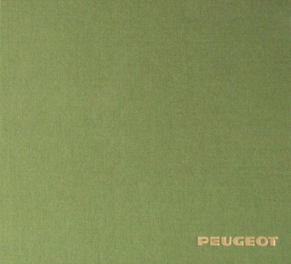 """Peugeot """"Selection des Coupes et Cabriolets 1898-1973"""" Peugeot-Historie 1973"""