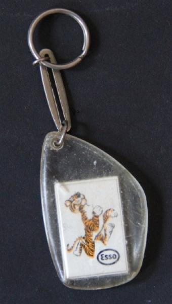 """Esso """"Pack den Tiger in den Tank"""" Werbe-Schlüsselanhänger 196"""