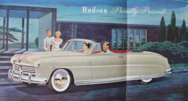 Hudson Convertible Brougham 1948 Automobilprospekt 1
