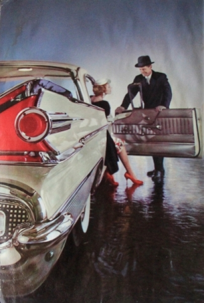 "Ford Mercury ""New Car Buyer's Guide"" 1959 Automobilprospekt 1"