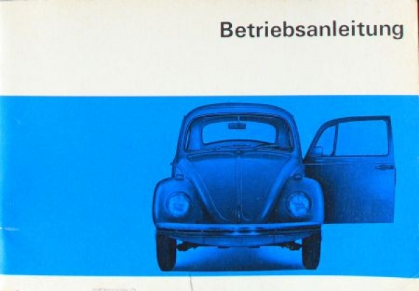 Volkswagen Käfer 1967 Betriebsanleitung