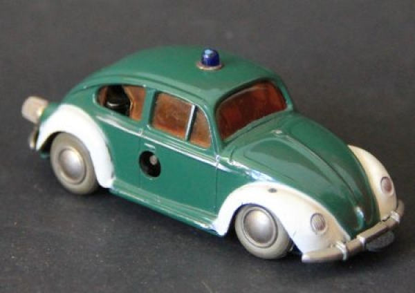 Schuco Volkswagen Käfer Polizei Micro Racer 1965 Metallmodell