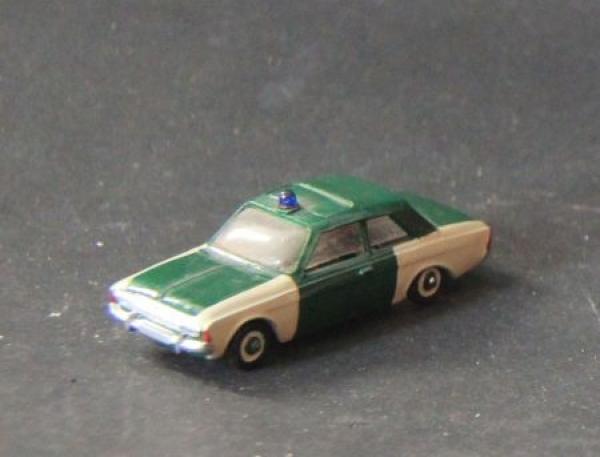 Märklin Ford 20M Polizei 1967 Kunststoffmodell