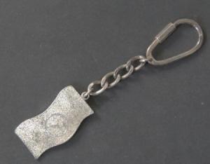 Mercedes-Benz Schlüsselanhänger mit Logo Metall 1980