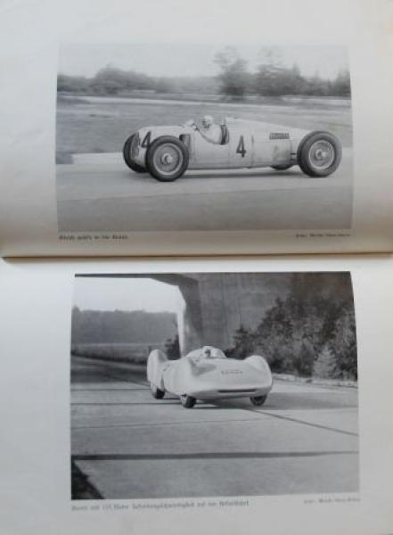 "Reh ""Der Meisterfahrer - Aus dem Leben Bernd Rosemeyers"" Rennfahrer-Biographie 1941 3"