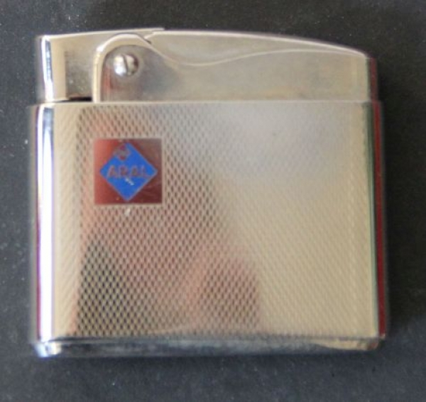 BV-Aral Rowenta-Werbefeuerzeug 1960 Metall