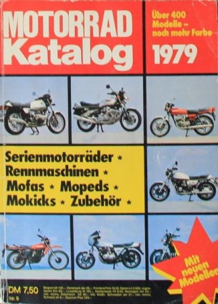 """Motorrad Katalog 79 - Serien- und Rennmaschinen"" Jahreskatalog 1979"