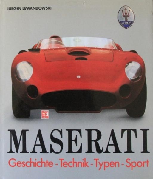 "Lewandwski ""Maserati"" Firmen-Historie 1982"