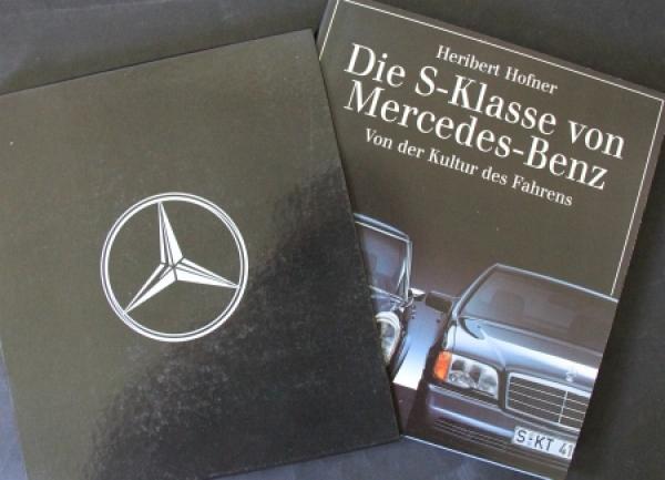 """Hofner """"Die S-Klasse von Mercedes-Benz"""" Fahrzeug-Historie 1993"""