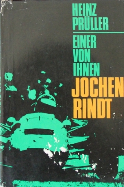 """Prüller """"Einer von Ihnen - Jochen Rindt"""" Rennfahrer-Biographie 1966"""