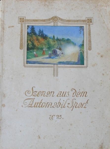 "Continental ""Szenen aus dem Automobil-Sport 1905"" Auto-Rennsport 1905"