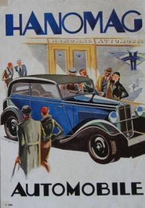 Hanomag Automobile Modellprogramm 1928 Automobilprospekt