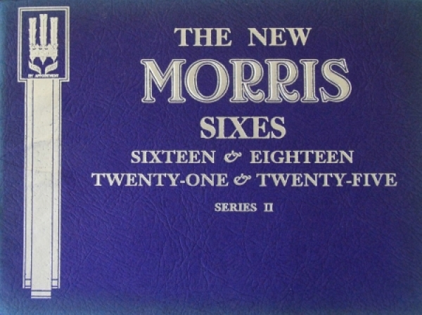 Morris Sixes Sixteen Twenty-One 1936 Automobilprospekt
