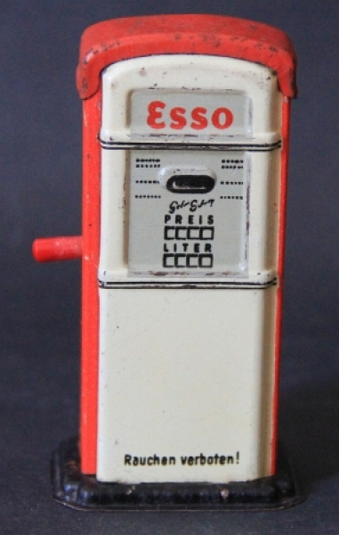 Arnold Esso-Zapfsäule 1958 Blechmodell