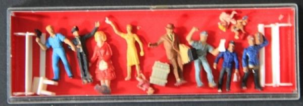 Preiser Miniaturfiguren HO Maßstab 1:87 in Originalbox 1990