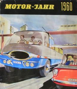 """""""Motor Jahr 1960 - Eine internationale Revue"""" Automobil-Jahrbuch"""