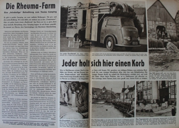 """Tempo Magazin"" Vidal & Sohn Firmenmagazin 1954 1"