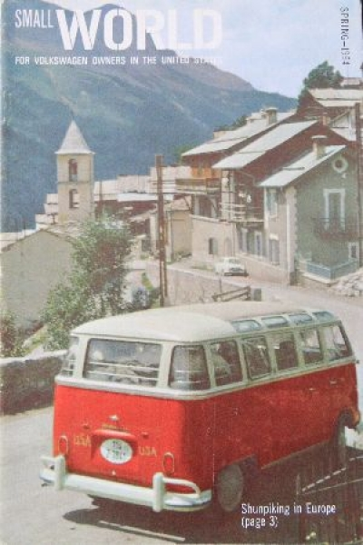 "Volkswagen Magazin ""Small World"" 1964"