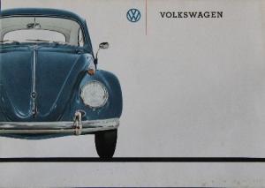 Volkswagen Käfer Automobilprospekt 1960