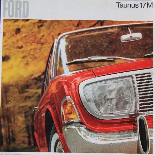 Ford Taunus 17 M 1966 Automobilprospekt