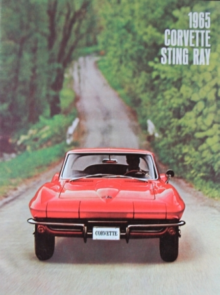 Chevrolet Corvette Sting Ray 1965 Automobilprospekt