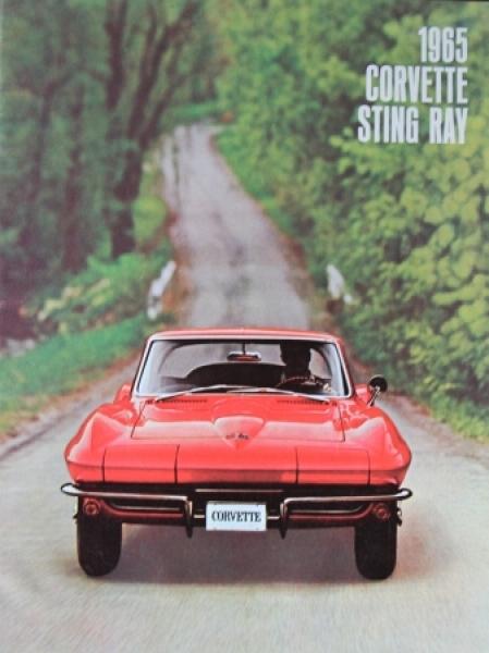 Chevrolet Corvette Sting Ray 1965 Automobilprospekt