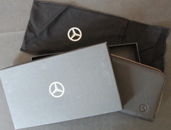 Mercedes-Benz Werbe-Geldbörse 2010 Rindsleder in Originalbox