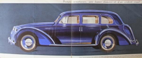 Fiat 2800 Modellprogramm 1939 Automobilprospekt 1