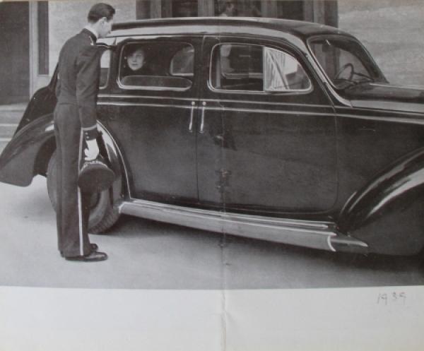 Fiat 2800 Modellprogramm 1939 Automobilprospekt 3