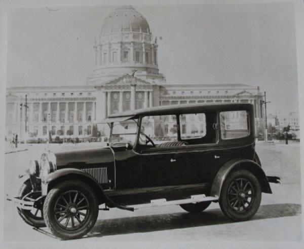 Buick Fordoor Sedan 1926 vor Capitol Original Photo