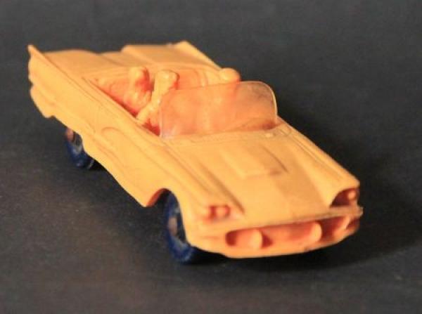 Tomte Laerdal Ford Thunderbird Cabriolet Vinylmodell 1959
