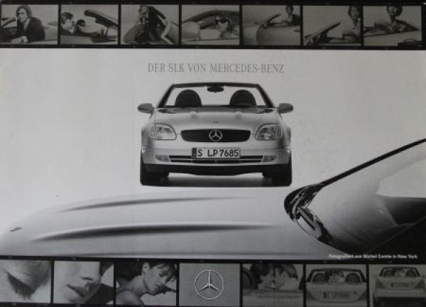 "Mercedes-Benz ""Der SLK"" Modellprogramm 2000 Automobilprospekt"